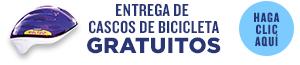 Entrega de cascos de bicicleta gratuitos - haga clic aqui