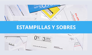 Estampillas y sobres